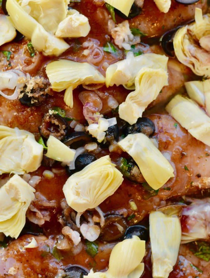 Olive and Artichoke Chicken Recipe Make Ahead Weeknight Meal Perfect for Entertaining