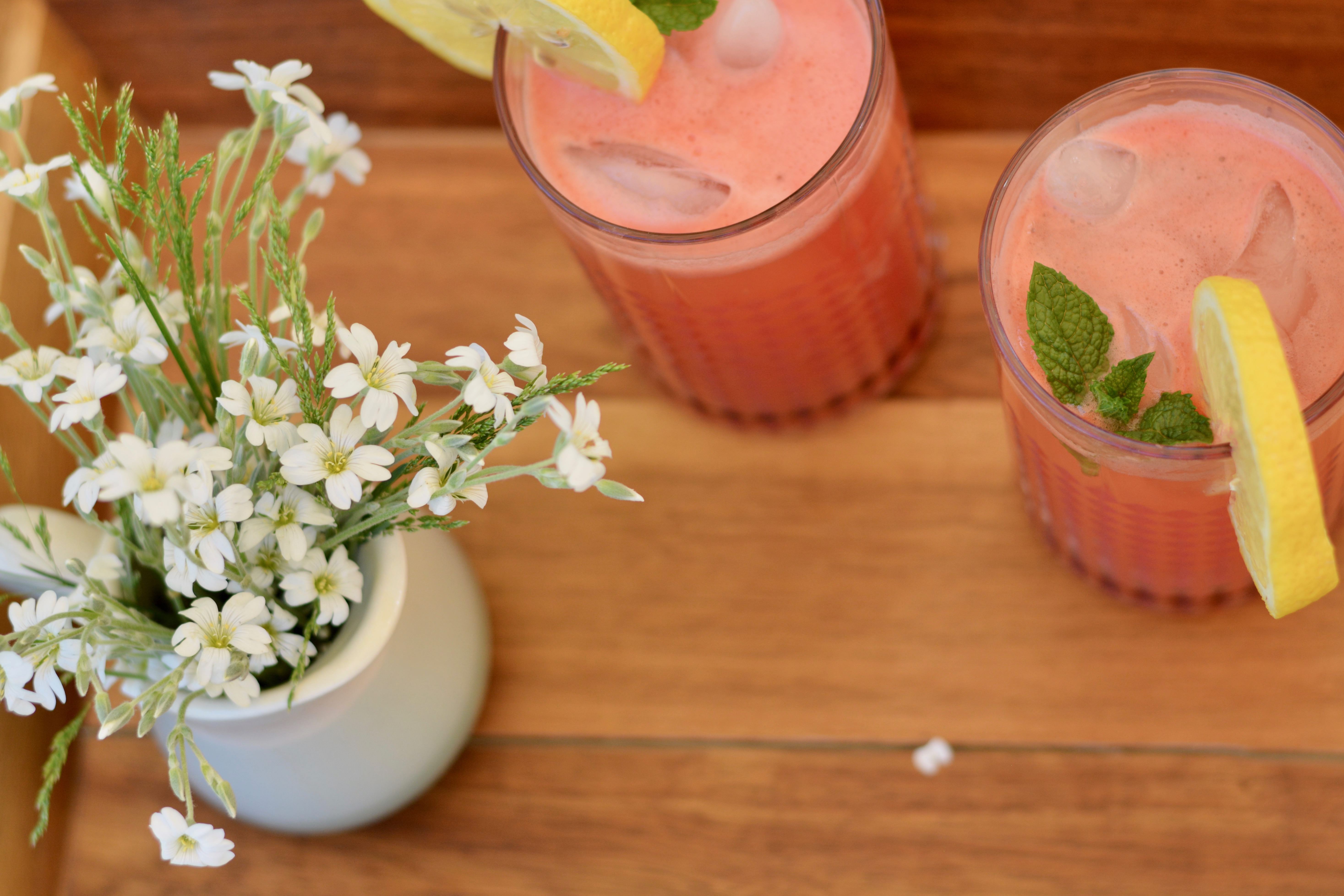Sparkling Watermelon Refresher | The Oven Light