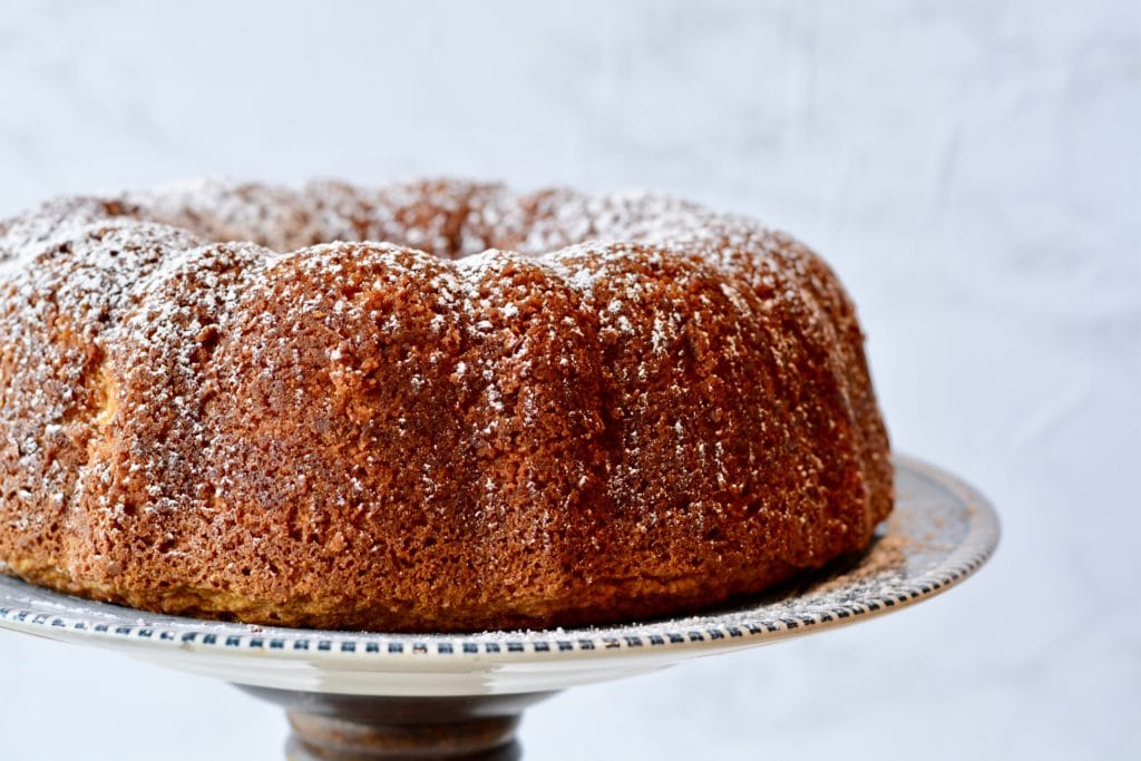 Butterscotch Pumpkin Cake - Amazing bundt cake for spring or fall. Perfect for Easter. Eat it for breakfast or dessert!