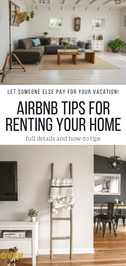 Rent your home on Airbnb while you go on vacation. Tips and how-to's for setting up your home and your Airbnb account. Let someone else pay for your next family trip!