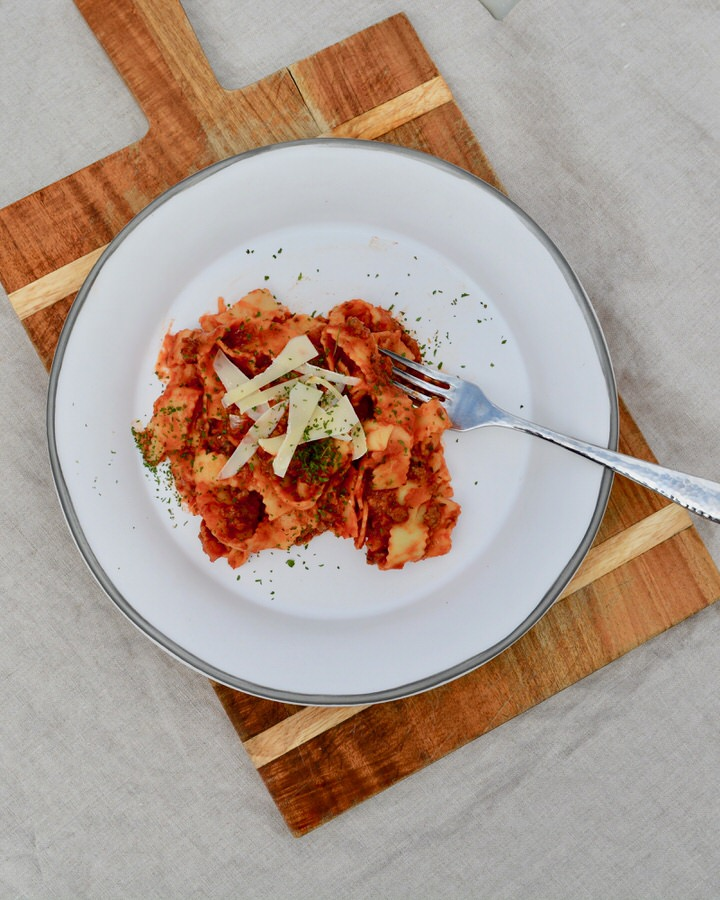 Italian Meat Sauce with Ground Beef and Italian Sausage - Smooth, delicious and easy to make! Take spaghetti night to the next level!