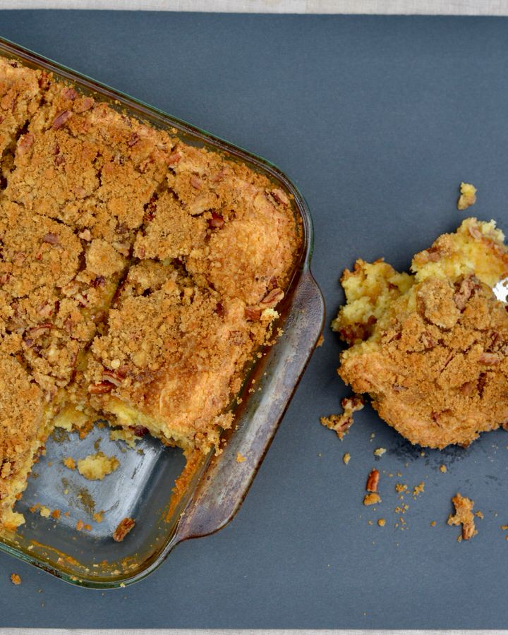 Yellow Cake Mix Coffee Cake - Super easy and oh so delicious!